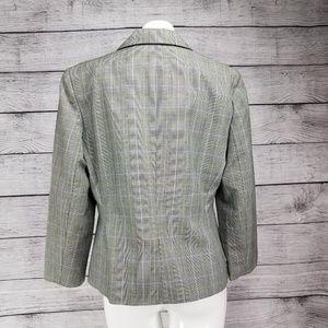 Worthington Jackets & Coats - Worthington Blazer pleated Skirt Suit Windowpane